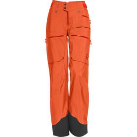 Norrøna W's Lofoten Gore-Tex Pro Light Pants Orange Alert